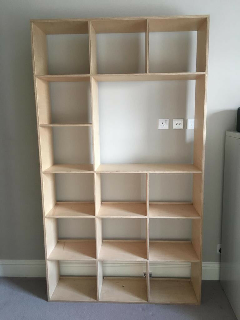 Hand Made Plywood Bookshelf
