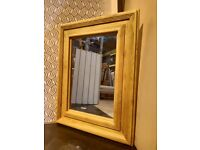 Large Wooden Mirror - Beautiful Solid Wooden Frame W110cmx H80cm x 6cm D (was £100)
