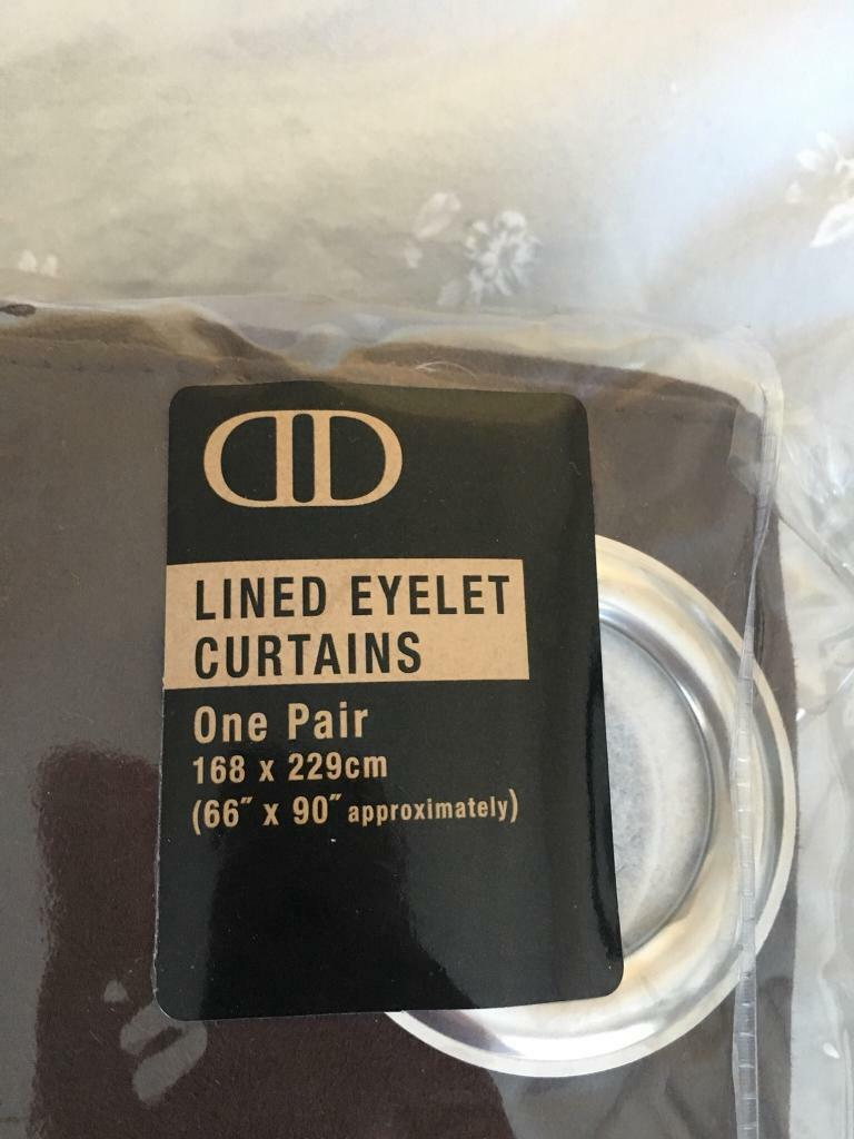 Eyelet lines curtains