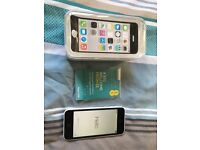 Like New Apple iPhone 5c White, just over 1 year old