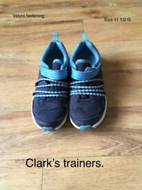 Clark's trainers 11 1/2 G
