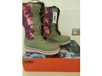 Gorgeous Khombu Winter Snow Boots - Size 3 / Eur 35