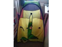 Kidactive pop up tent and tunnels