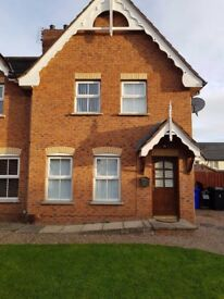 To Rent.3 bedroom house to rent in Ardvanagh Bangor. This is avaliable from mid December.