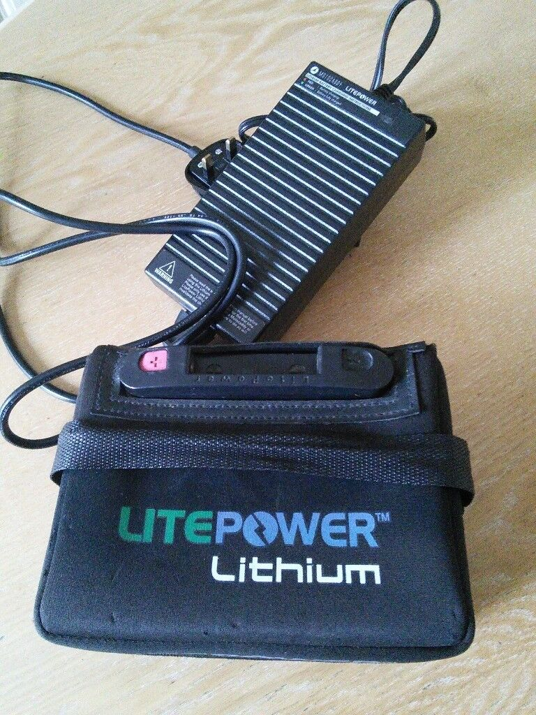 Litepower Lithium Battery £80 | in Cardiff | Gumtree