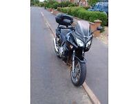 Black Honda CBF 1000 plus panniers and top box for sale