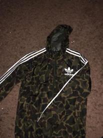 Adidas Camouflage Jacket (Medium)