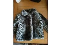 4-5 years fur coat