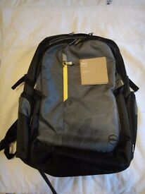"Dell Tech back pack fits most laptops up to 17"" Brand new"