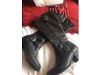 M&S knee high boots size 6