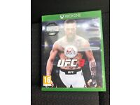 Xbox One UFC 3 Game In Good Condition