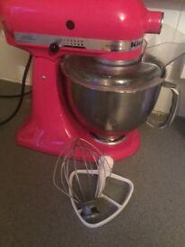 KitchenAid Artisan Mixer Raspberry