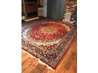 Room size traditional style rug
