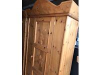 Designer bespoke pine fairy or Rock star carved bedroom furniture original price paid 1500.00