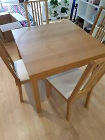 !!NEW REDUCED PRICE!! Table and 4 chairs