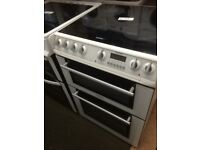 Hotpoint ceramic top cooker £139 60 cm wide
