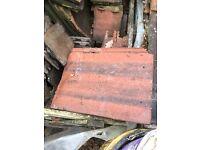 Red Redland pan tiles