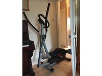 Excellent condition cross trainer hardly used