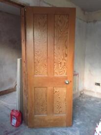 7 pine doors