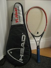 Head Titanium Heat Tennis Racquet (case included) - excellent condition