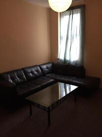 Double room, single bed £70 per week.