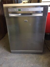 Full Size Maytag Dishwasher MDW08-13AGZ in Silver