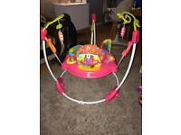 Fisher price Jumperoo... Pink! Excellent Condition!