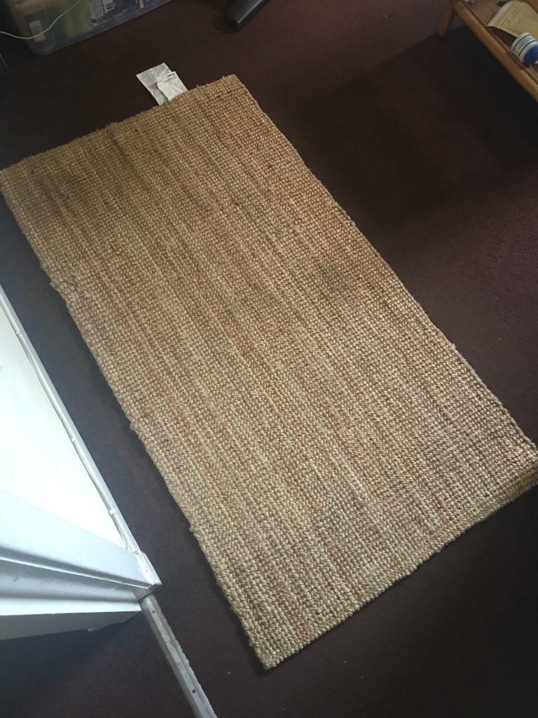 Flatwoven jute rug | IKEA Lohals | 80 x