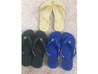 Real Havaianas flip flops