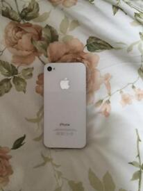 iPhone 4S 16GB White (see description)