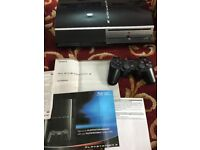 PlayStation 3 80GB console, comes with its original box and an original dualshock controller.