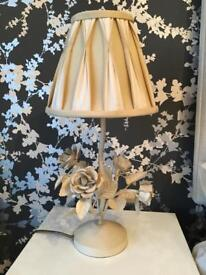 Laura Ashley lamp and shade