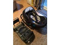 Silver cross infant car seat and isofix base