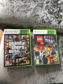 Gta V and Lego movie Xbox
