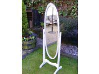 Olympus freestanding swivel mirror