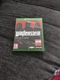 Wolfenstein new order Xbox one