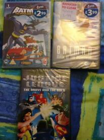 Super hero dvds new batman