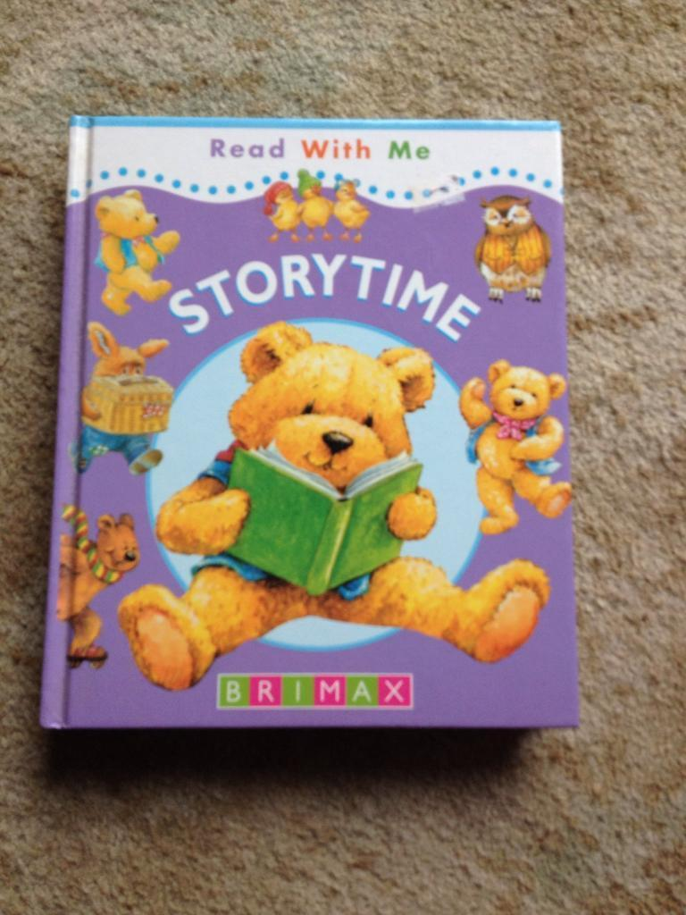 Large print story book