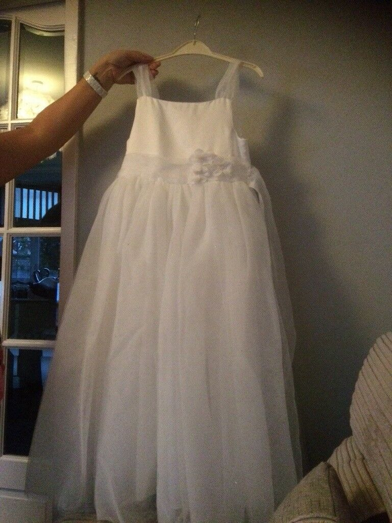 Girls bridesmaid/ communion/ party dress