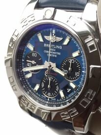 Breitling Chronomat AB0140. Warranty to 2020. All boxes, cards, paperwork, plus valuation