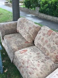 Free Sofa and free Kingsize bed base