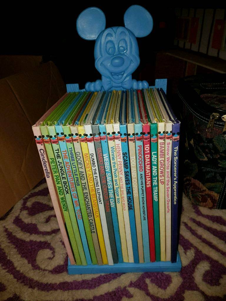 Disney books with stand