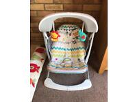 Fisher-Price Colourful Carnival Take-Along Swing Seat