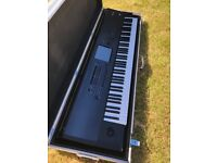 Korg Kronos 88 1st Generation Keyboard\Workstation with Flight Case and Sustain Pedal