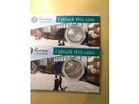 Sir Isaac Newton rare 2018 50p coin *uncirculated*