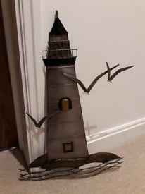 Metal artwork Lighthouse