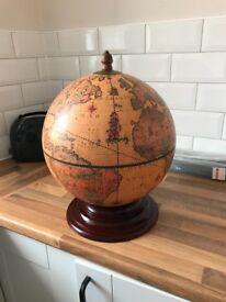 Rustic Drinks Globe