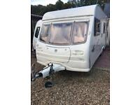2004 Avondale dart 6 berth with blow up awning