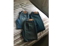 Levi 501 x 3 pair