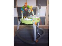Fisher Price Rainforest Friends SpaceSaver Jumperoo !!! AS GOOD AS NEW !!!